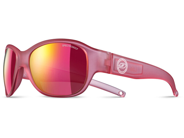 Julbo Lola Spectron 3CF Sunglasses Junior 6-10Y Matt Translucent Pink-Multilayer Pink